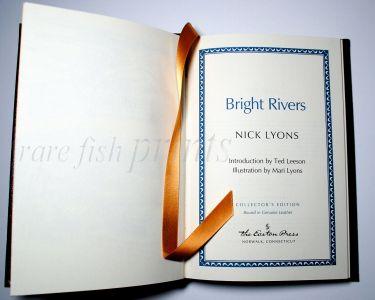 BRIGHT RIVERS - NICK LYONS - detail 2.